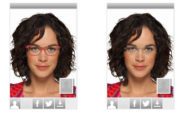 Brillen online anprobieren